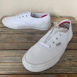Vans Skate Authentic True White Shoes